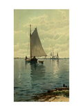Sailboat Painting Posters