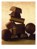 Chocolate Candies Print