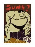 Sumo Wrestler Print
