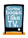 Screw Books Posters