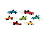 Cute Race Cars Posters