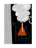 Science Experiment Lab Premium Giclee Print