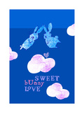 Sweet Bunny Love Poster