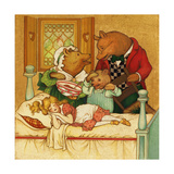 Goldilocks and the Three Bears Prints