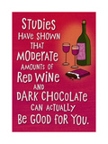 Wine and Chocolate Posters