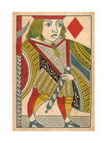 Jack of Diamonds Card Poster