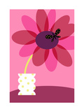Blooming Flower in Vase Prints