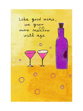 Wine and Aging Posters