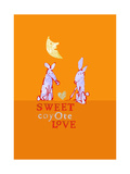 Sweet Coyote Love Prints