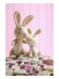 Two Bunny Toys Prints