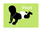 iPood Baby Affiches