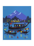 Evening Gondola Rides Posters
