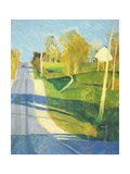 Rural Landscape with Road Premium Giclee Print