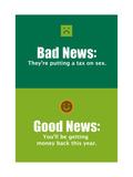Good News, Bad News Prints