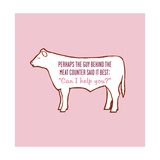 Meat Counter Car Prints