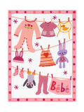 Baby Clothes with Stuffed Animals Prints