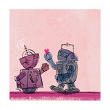 Robot Couple Prints