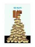 Go Nuts Print