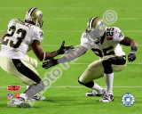Reggie Bush & Pierre Thomas Super Bowl XLIV Celebration Photo