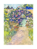 Garden Bench and Gate Prints