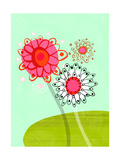 Stylized Flowers Prints