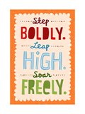 Step, Leap, Soar Posters
