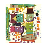 Abstract Collage Prints