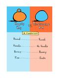 Hippity Hop Exercise Comparison Prints