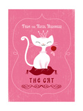 Royal Highness Cat Posters