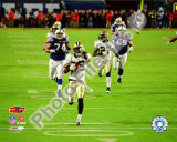 Tracy Porter Super Bowl XLIV Interception &amp; Touchdown Return Photo