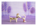 Bunny and Dog Toy Prints