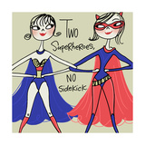 Superhero Friends Premium Giclee Print