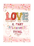 Love is a Many Splendored Thing Prints