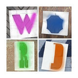 Word Shapes Premium Giclee Print