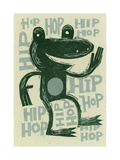 Hip Hop Frog Print