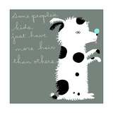 Hairy Spotted Dog Kid Prints