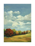 Countryside and Clouds Art