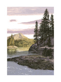 Landscape Mountain Stream Prints