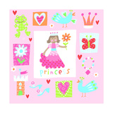 Princess Elements Print