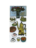 Tea Time Still Life Poster