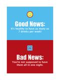 Good News, Bad News Posters