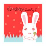 Grumpy Bunny Posters