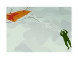 Soldier's Parachute Print