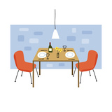 Retro Dining Room Prints