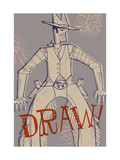 Cowboy Draw Posters