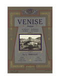 Venice Italy Advertisement Prints