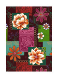 Flower and Pattern Assortment Art