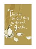 Garlic Posters