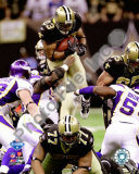 Pierre Thomas 2009 With NFC Championship Photo