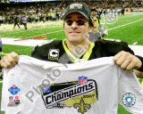 Drew Brees 2009 NFC Championship Game Photo